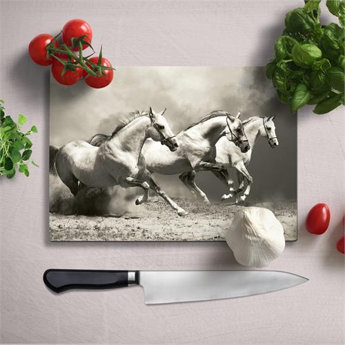 Uv Printed Tempered Glass Chopping Board