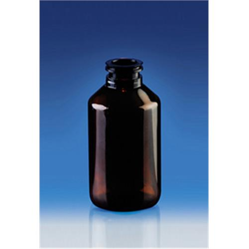 50 CC Veterinary Brown Plastic Pet Bottle For Cosmetic Industry