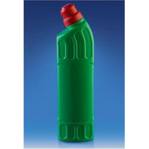 850 CC Ultra Bleach Plastic PE Bottle For Detergent / Cleaning Industry