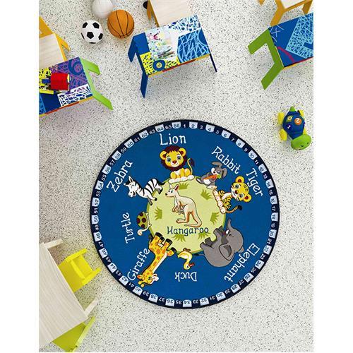 Educational Children Carpet