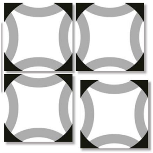 OMAMI Geometric 33X33 Patchwork Glazed Porcelain Tile