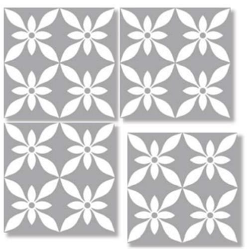 ROM GRAY 33X33 Patchwork Glazed Porcelain Tile