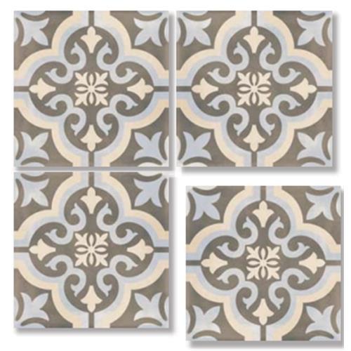 DECOR Classic Light 33X33 Patchwork Glazed Porcelain Tile