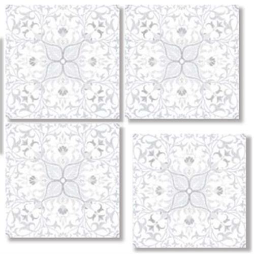 PURE NET CLOUD GRAY 33X33 Patchwork Glazed Porcelain Tile
