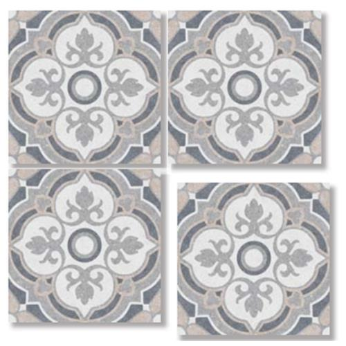 POSITANO PINK MIX 33X33 Patchwork Glazed Porcelain Tile