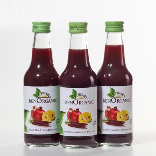 Pomegranate, Quince, Black Carrot Juice - Benorganic