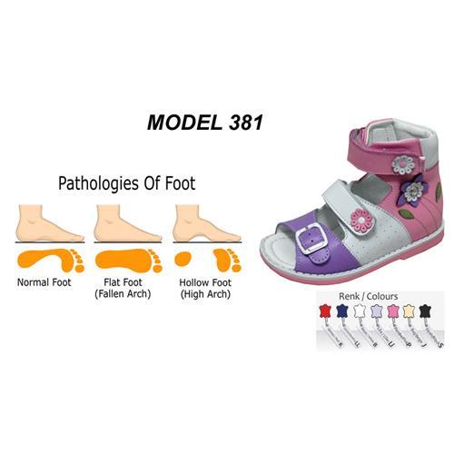 Kid's Flat Foot High Sandal
