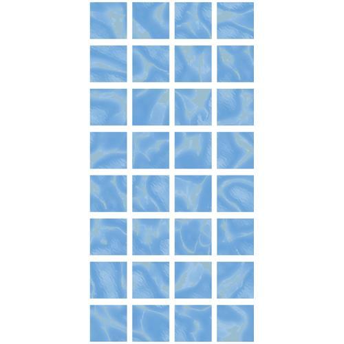 Aqua Mosaic Blue Floor and Wall Tile 12x24,5