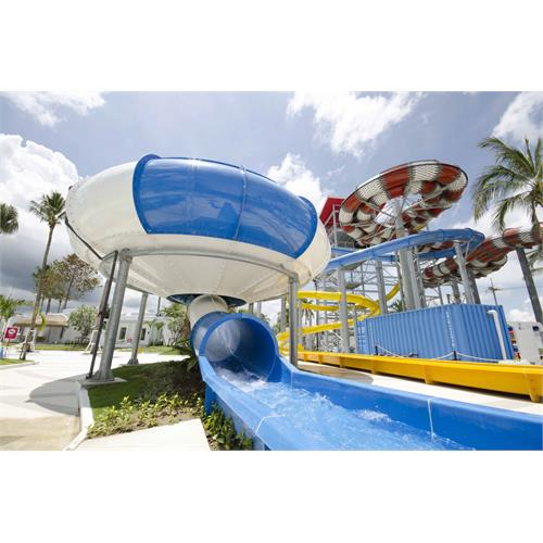 Space Hole Extreme Water Slides