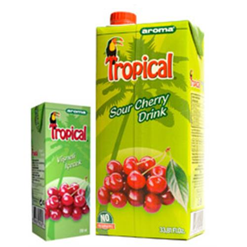 Tropical Sour Cherry Drink - Fruit Drinks