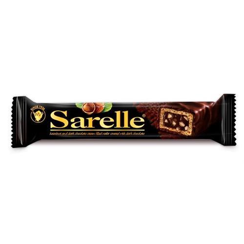 Sarelle Hazelnut And Dark Chocolate Cream Filled Wafer Covered With Dark Chocolate 33 G