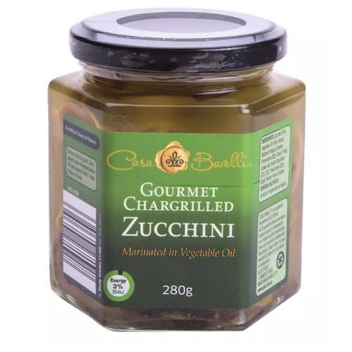 Private Label ALDI Chargrilled Zucchini 280g