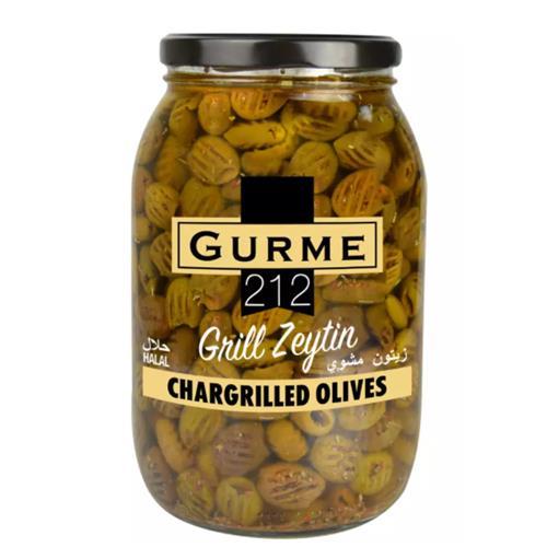 Gurme212 Chargrilled Olives 2000cc Jar