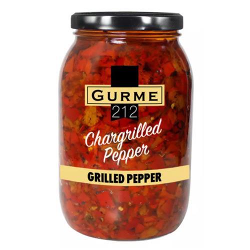 Gurme212 Chargrilled Pepper 2000cc Jar