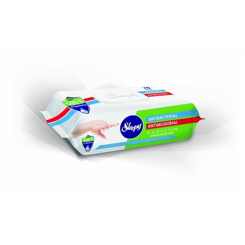 Sleepy Antibacterial Wet Wipes 70 Pcs