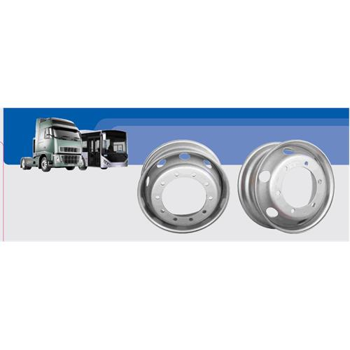 Tubeless 15° DC Wheels For Commercial Vehicle