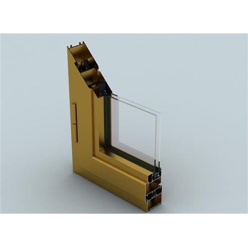 WD55 System (System uninsulated) Door and Window Aluminum Systems