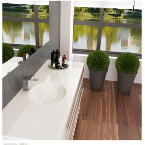Urania Sink with Counter - Solid Bathroom Sinks