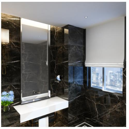 Selene Sink with Counter - Solid Bathroom Sinks