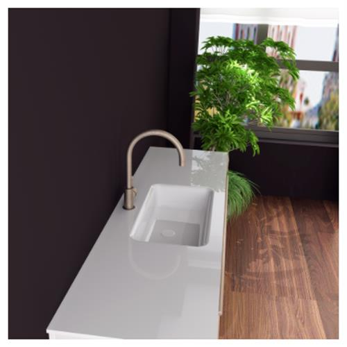 Ares Sink with Counter - Solid Bathroom Sinks