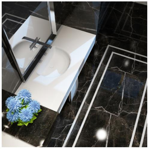 Shine Sink with Counter - Solid Bathroom Sinks