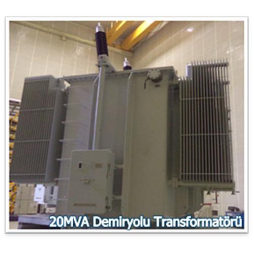Railroad Transformer 20 MVA