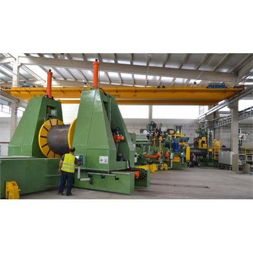 SWP-SSAW Machines - Steel Pipe Industrial Facilities