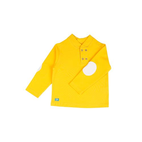 Yellow Blossom Organic Baby Boy Sweatshirt
