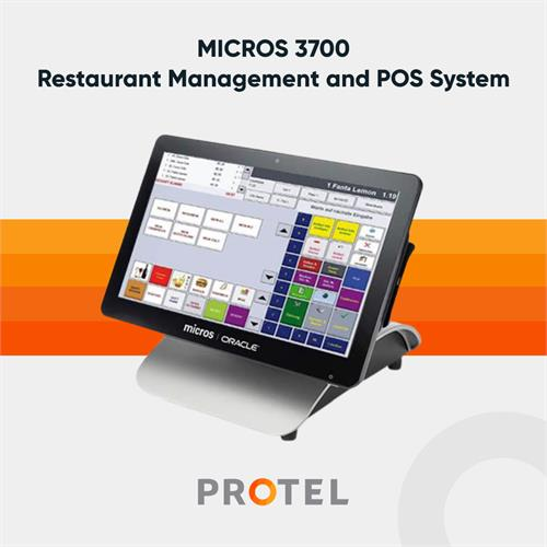 MICROS 3700 - Restaurant Management and POS System