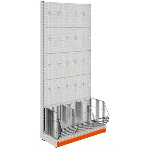 Wall Unit With Basket Perforated