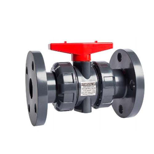 Thermoplastic Industrial Flanged Type Ball Valve