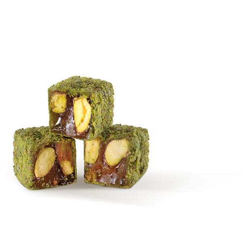 Traditional Double Roasted Turkish Delight With Extra Rich Pistachio