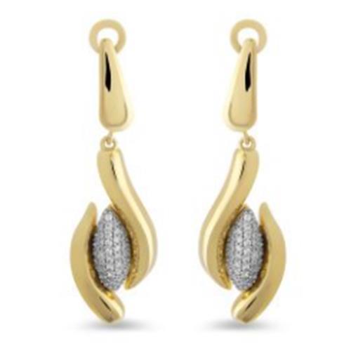 Gold Earrings  6,80G