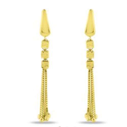 Gold Earrings 4.20g