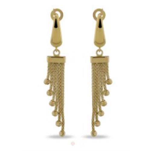 Gold Earrings 3,10g