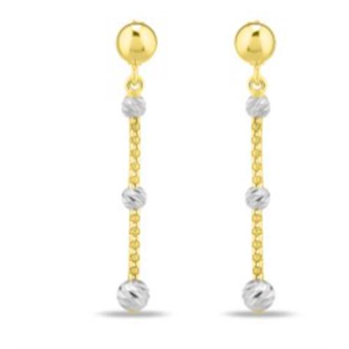 Gold Earrings 2.5G