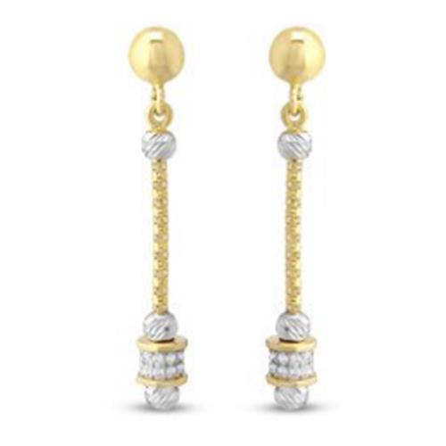 Gold Earrings 2.50 g