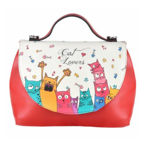 Cat Lovers Women Handbag