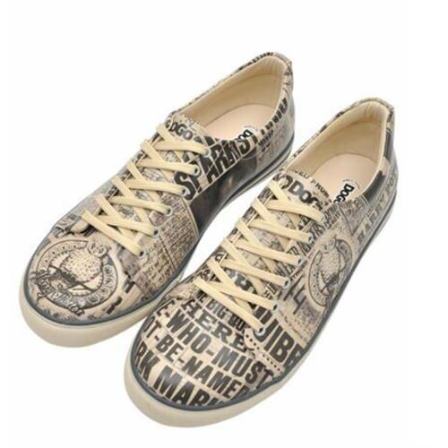 Daily Prophet Harry Potter Men Sneaker Shoes