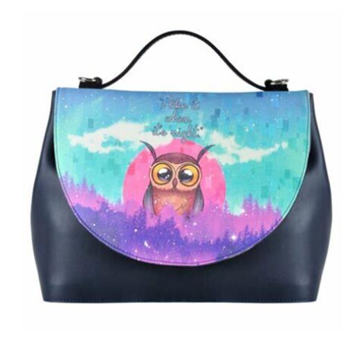 I Like It When It is Night Women Handbag