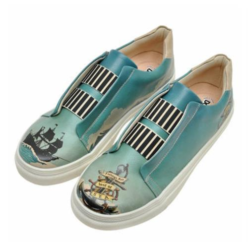 Lost at Sea Men Sneaker Shoes