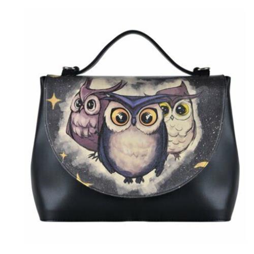 Owls Family Women Handbag