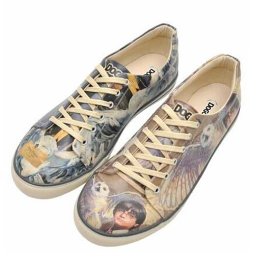 Harry and Hedwig Harry Potter Men Sneaker Shoes