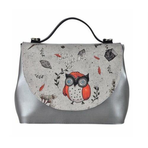 Night Owl Women Handbag