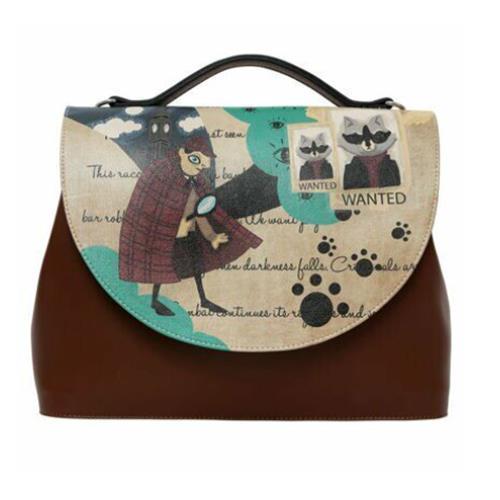 Criminal Raccoon Women Handbag