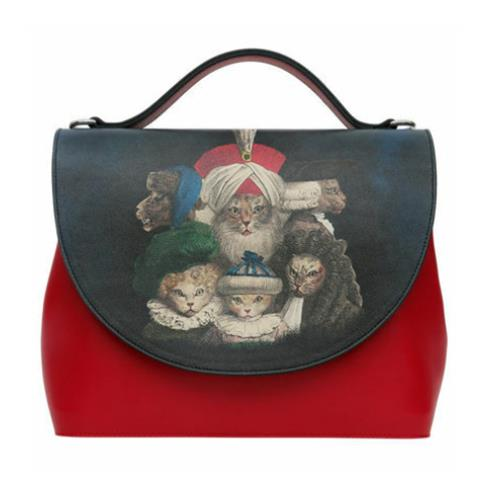 Royal Cats Women Handbag