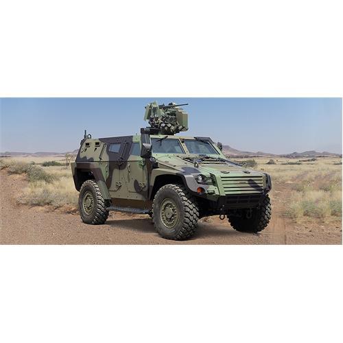 COBRA II Wheeled Armoured Military Vehicles