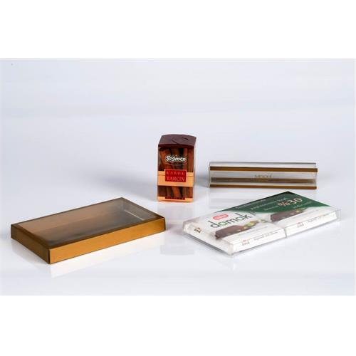 Folding boxes - PET, PP and PVC materials