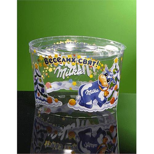 Cylinder Conical Boxes - PVC, PET