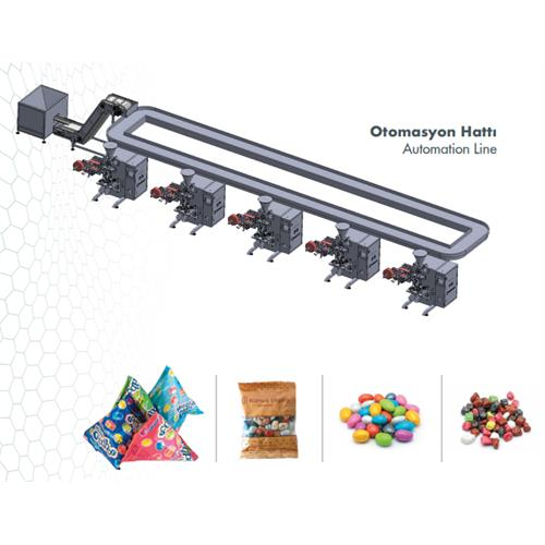 Pyramid and Pillow Type Packaging Machine